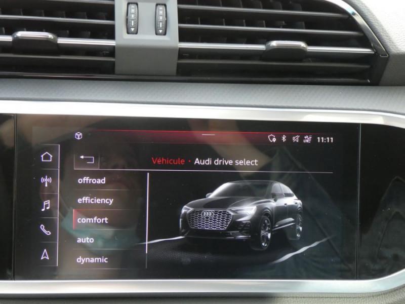 Photo 18 de l'offre de AUDI Q3 SPORTBACK 35 TDI 150 S Tronic 7 2WD GPS Cockpit LED JA18 à 43490€ chez Mérignac auto