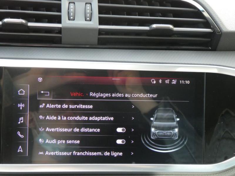 Photo 17 de l'offre de AUDI Q3 SPORTBACK 35 TDI 150 S Tronic 7 2WD GPS Cockpit LED JA18 à 43490€ chez Mérignac auto