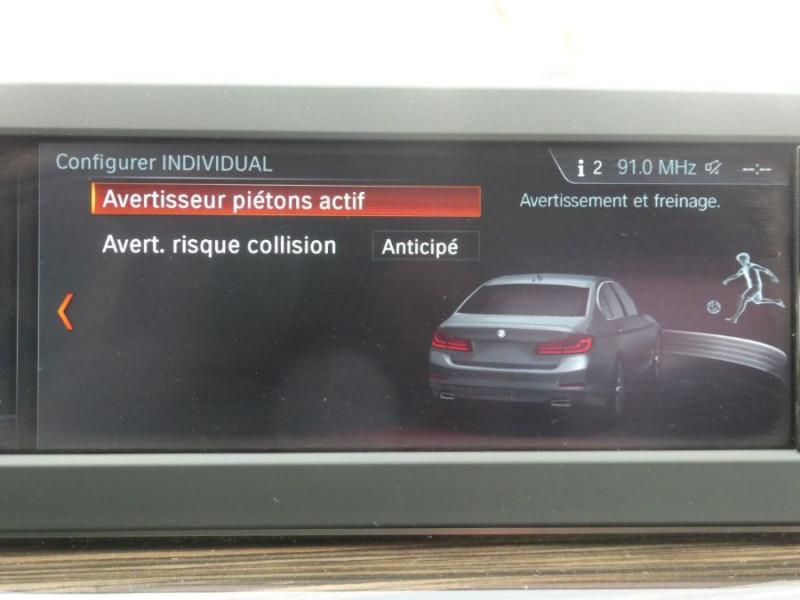 Photo 18 de l'offre de BMW SERIE 5 (G30) 520DA 190 BVA8 SPORTLINE CUIR TOE JA18 Gtie 01/23 à 39290€ chez Mérignac auto