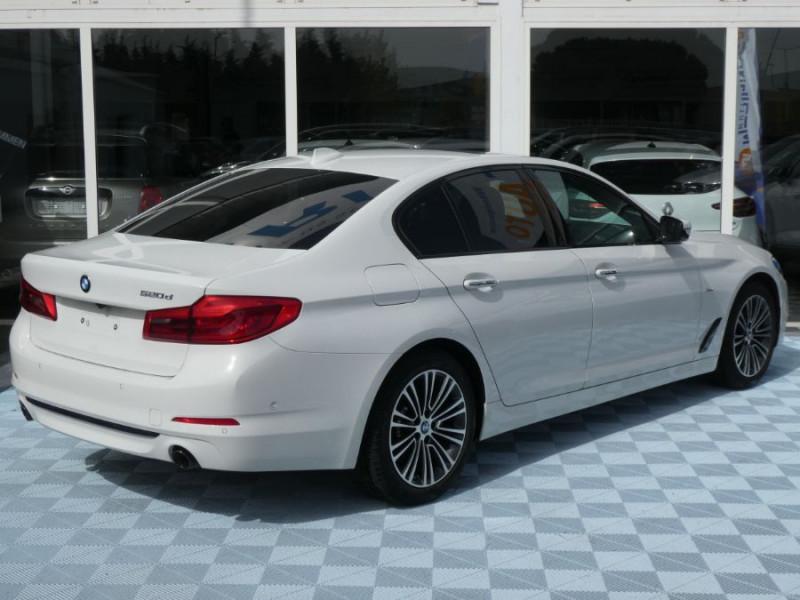 Photo 3 de l'offre de BMW SERIE 5 (G30) 520DA 190 BVA8 SPORTLINE CUIR TOE JA18 Gtie 01/23 à 39290€ chez Mérignac auto