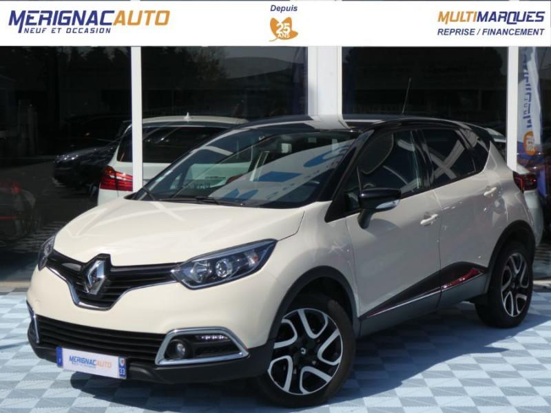 Renault CAPTUR 1.5 dCi 90 INTENS Camera DIESEL IVOIRE / TOIT NOIR Occasion à vendre