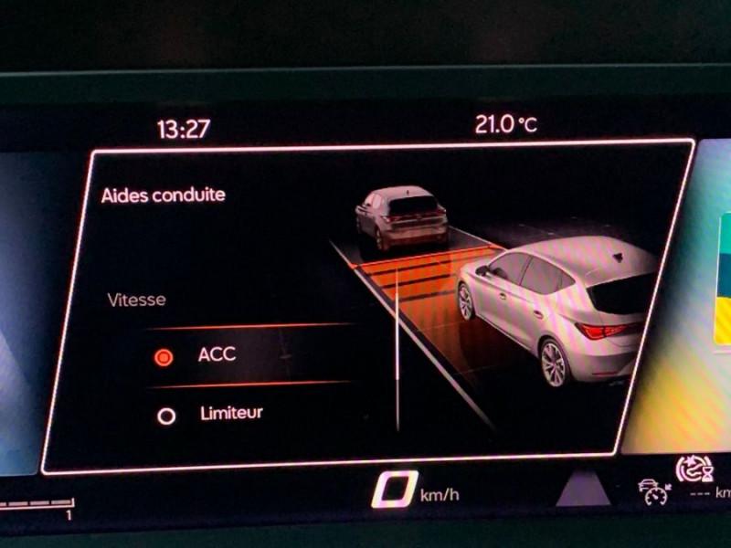 Photo 20 de l'offre de SEAT LEON IV 1.5 TSI 130 BV6 BUSINESS GPS Full LED RER Gtie 11/24 à 22750€ chez Mérignac auto