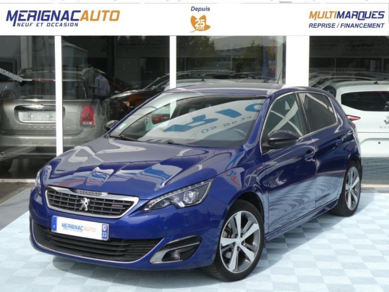 Peugeot 308 1.2 PureTech 130 BV6 GT LINE ESSENCE BLEU MAGNETIC METAL Occasion à vendre