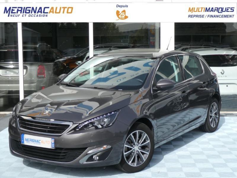 Peugeot 308 1.6 BlueHDi 120 BV6 ALLURE TOIT Pano Camera 1ère Main DIESEL GRIS PLATINIUM Occasion à vendre