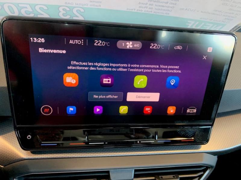 Photo 13 de l'offre de SEAT LEON IV 1.5 TSI 130 BV6 BUSINESS GPS Full LED RER Gtie 11/24 à 22750€ chez Mérignac auto
