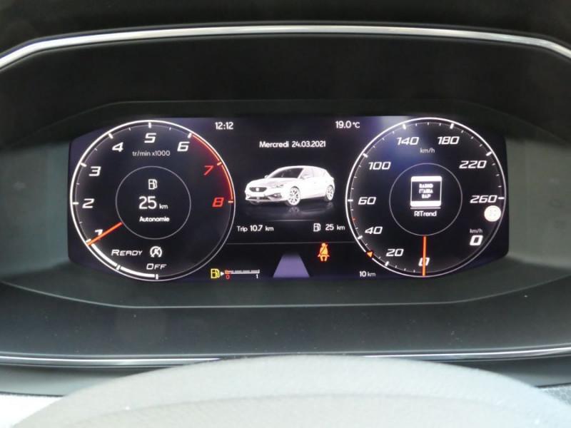 Photo 16 de l'offre de SEAT LEON IV 1.5 TSI 130 BV6 BUSINESS GPS Full LED RER Gtie 11/24 à 22750€ chez Mérignac auto