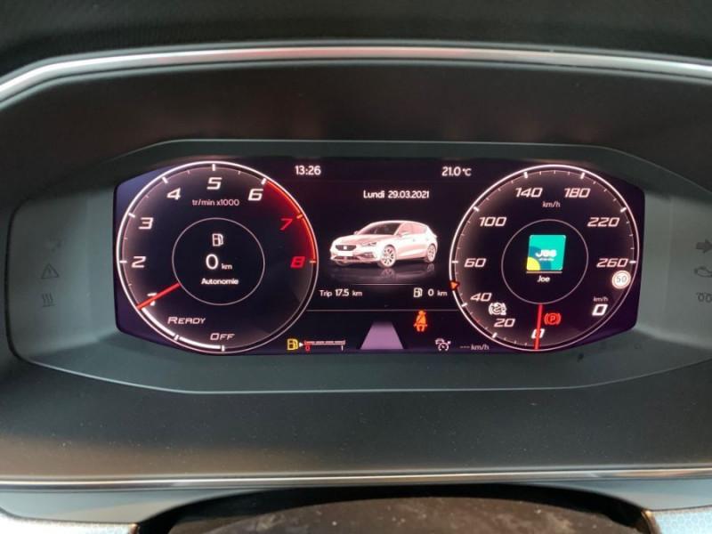 Photo 15 de l'offre de SEAT LEON IV 1.5 TSI 130 BV6 BUSINESS GPS Full LED RER Gtie 11/24 à 22750€ chez Mérignac auto