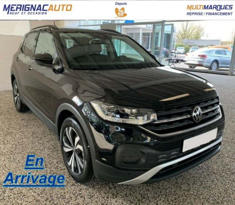 Volkswagen T-CROSS 1.0 TSI 110 DSG7 LOUNGE PACK BLACK Camera JA17 (8 Options) ESSENCE NOIR INTENSE MÉTAL Neuf à vendre