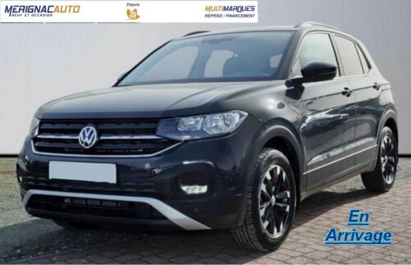 Volkswagen T-CROSS 1.0 TSI 110 DSG7 LOUNGE Camera Radars JA16 Diam. ESSENCE GRIS URANO Neuf à vendre