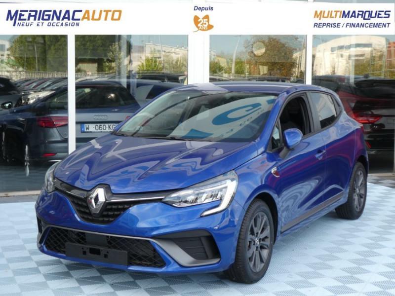 Renault CLIO V TCe 100 Pack RS LINE ESSENCE BLEU IRON MÉTAL Neuf à vendre