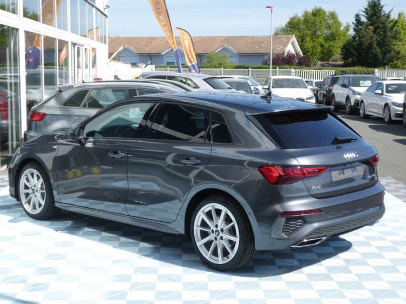 Photo 3 de l'offre de AUDI A3 SPORTBACK IV 35 TFSI 150 MHEV S Tronic 7 S LINE Mirror JA18 Audi Sport Etoile à 34980€ chez Mérignac auto