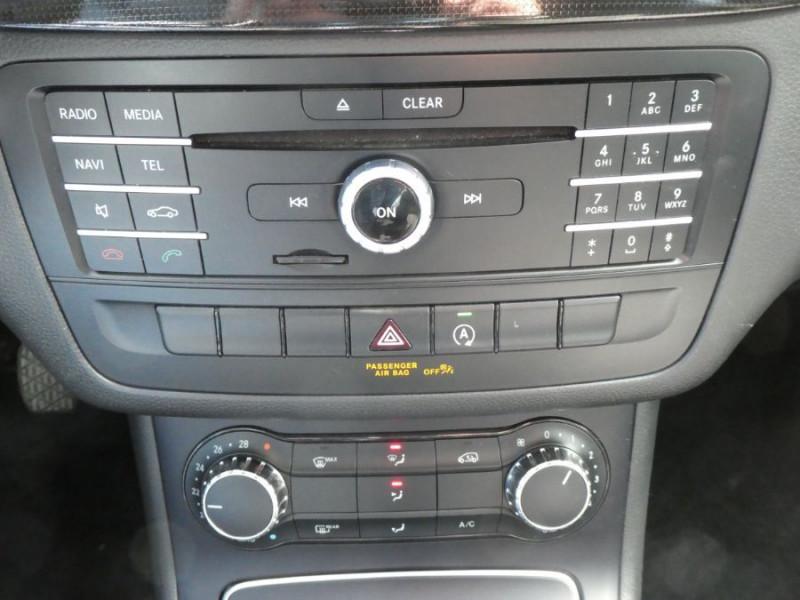 Photo 15 de l'offre de MERCEDES-BENZ CLASSE B 180D BV6 BUSINESS GPS Camera 1ère Main à 14490€ chez Mérignac auto