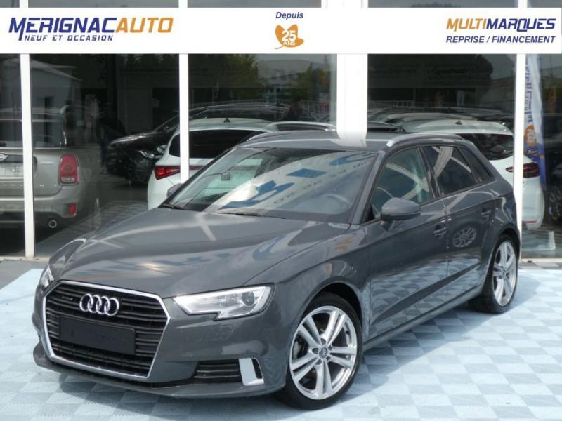 Audi A3 SPORTBACK 40 TFSI 190 S Tronic 7 SPORT QUATTRO ESSENCE GRIS NANO MÉTAL Occasion à vendre