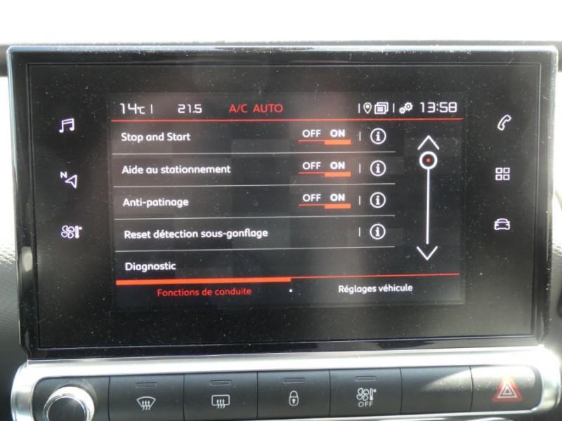 Photo 15 de l'offre de CITROEN C4 CACTUS (2) 1.5 BlueHDi 100 BV6 SHINE Camera Radars JA17 à 16450€ chez Mérignac auto