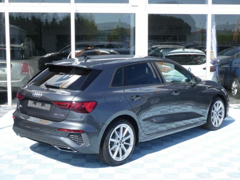 Photo 4 de l'offre de AUDI A3 SPORTBACK IV 35 TFSI 150 MHEV S Tronic 7 S LINE Mirror JA18 Audi Sport Etoile à 34980€ chez Mérignac auto
