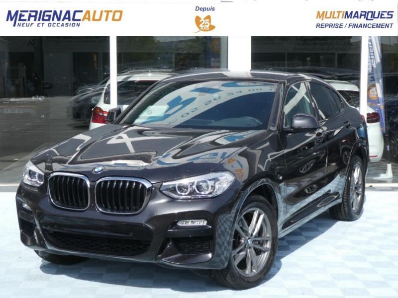 Photo 1 de l'offre de BMW X4 (G02) XDRIVE20D BVA8 190 M SPORT 360° Cmde Gestuelle Gtie 09/22 à 49850€ chez Mérignac auto