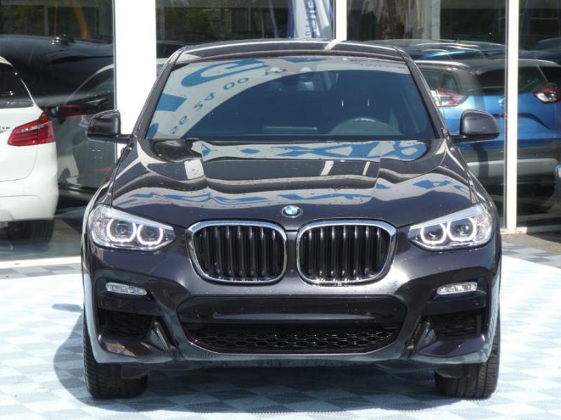 Photo 13 de l'offre de BMW X4 (G02) XDRIVE20D BVA8 190 M SPORT 360° Cmde Gestuelle Gtie 09/22 à 49850€ chez Mérignac auto