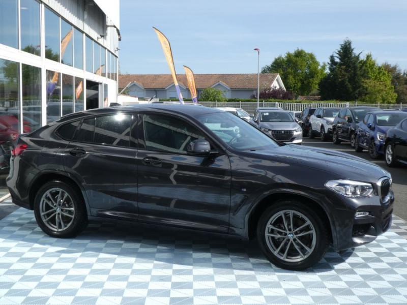 Photo 2 de l'offre de BMW X4 (G02) XDRIVE20D BVA8 190 M SPORT 360° Cmde Gestuelle Gtie 09/22 à 49850€ chez Mérignac auto