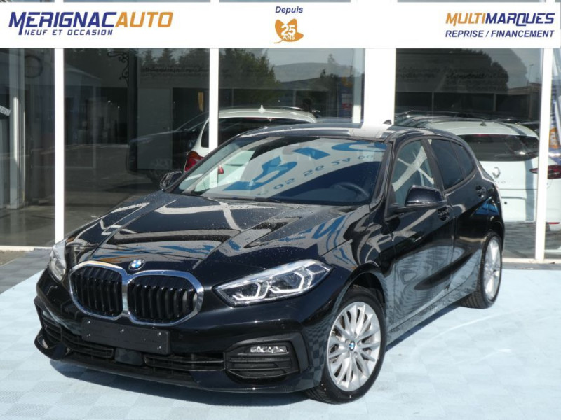 Bmw SERIE 1 (F40) 118DA 150 BVA8 BUSINESS GPS Keyless Privacy Glass Gtie 02/23 DIESEL NOIRE Occasion à vendre