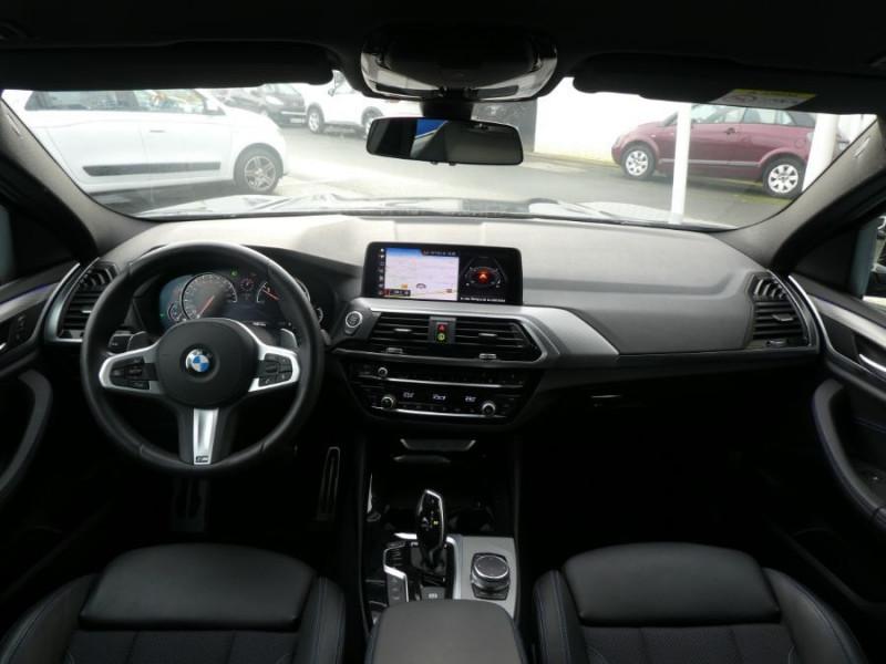 Photo 6 de l'offre de BMW X4 (G02) XDRIVE20D BVA8 190 M SPORT 360° Cmde Gestuelle Gtie 09/22 à 49850€ chez Mérignac auto