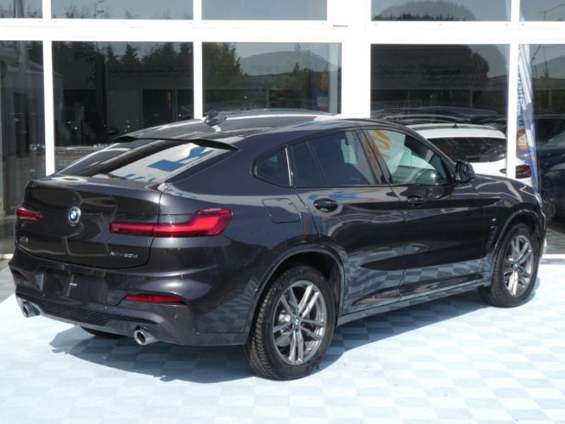 Photo 4 de l'offre de BMW X4 (G02) XDRIVE20D BVA8 190 M SPORT 360° Cmde Gestuelle Gtie 09/22 à 49850€ chez Mérignac auto