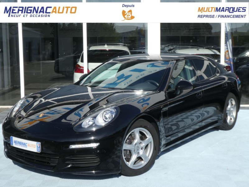 Porsche PANAMERA II 3.6 V6 310 PDK JA20P +1490€ ESSENCE NOIR Occasion à vendre