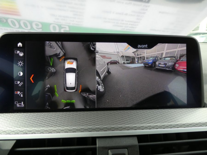Photo 11 de l'offre de BMW X4 (G02) XDRIVE20D BVA8 190 M SPORT 360° Cmde Gestuelle Gtie 09/22 à 49850€ chez Mérignac auto