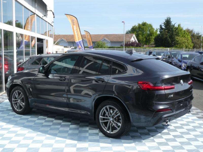 Photo 3 de l'offre de BMW X4 (G02) XDRIVE20D BVA8 190 M SPORT 360° Cmde Gestuelle Gtie 09/22 à 49850€ chez Mérignac auto