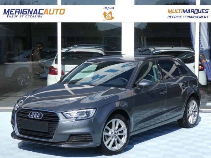 Audi A3 SPORTBACK 30 TDI 116 S Tronic 7 PACK GPS JA17 DIESEL GRIS MOUSSON Occasion à vendre