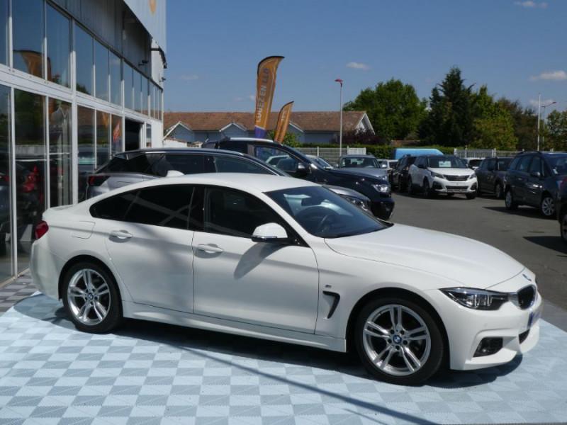 Photo 2 de l'offre de BMW SERIE 4 GRAN COUPE (F36) 420I 184 BVA8 M SPORT Camera Gtie 06/22 à 33490€ chez Mérignac auto