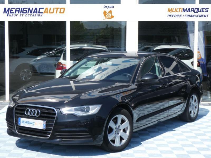 Audi A6 IV 2.0 TDI 177 BVA AMBITION LUXE CUIR DIESEL NOIR MÉTAL Occasion à vendre