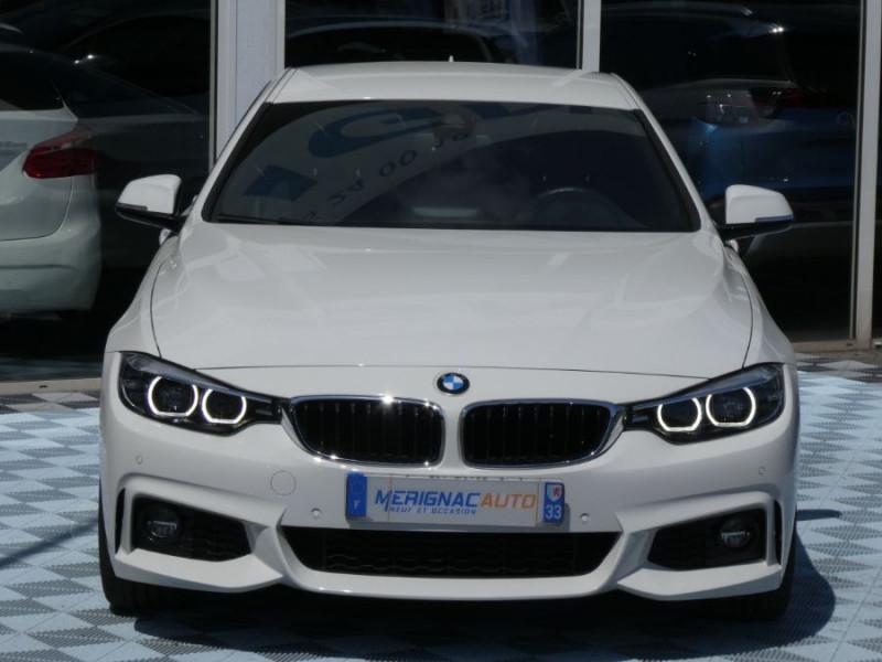 Photo 9 de l'offre de BMW SERIE 4 GRAN COUPE (F36) 420I 184 BVA8 M SPORT Camera Gtie 06/22 à 33490€ chez Mérignac auto