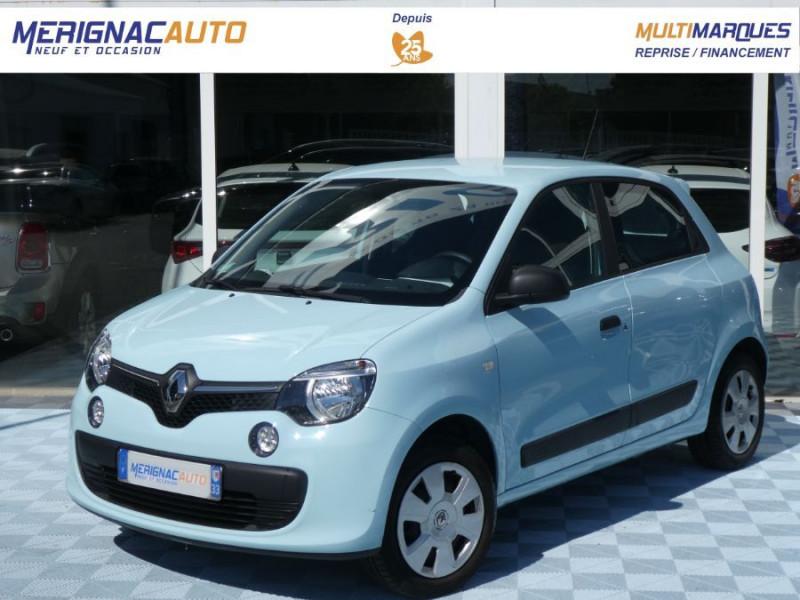 Renault TWINGO III 1.0 SCe 70 LIFE Bluetooth 1ère Main ESSENCE BLEU DRAGEE Occasion à vendre
