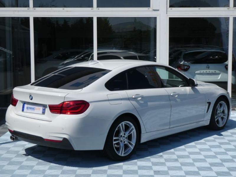 Photo 3 de l'offre de BMW SERIE 4 GRAN COUPE (F36) 420I 184 BVA8 M SPORT Camera Gtie 06/22 à 33490€ chez Mérignac auto