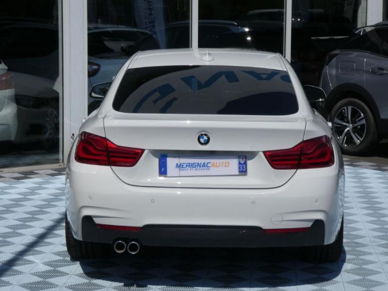 Photo 10 de l'offre de BMW SERIE 4 GRAN COUPE (F36) 420I 184 BVA8 M SPORT Camera Gtie 06/22 à 33490€ chez Mérignac auto