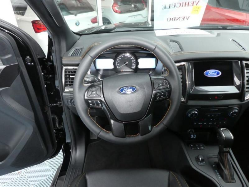 Photo 11 de l'offre de FORD RANGER SUPER CAB 2.0 TDCI 213 BVA10 4WD WILDTRAK Cover Pack Tech. 32900HT à 39450€ chez Mérignac auto