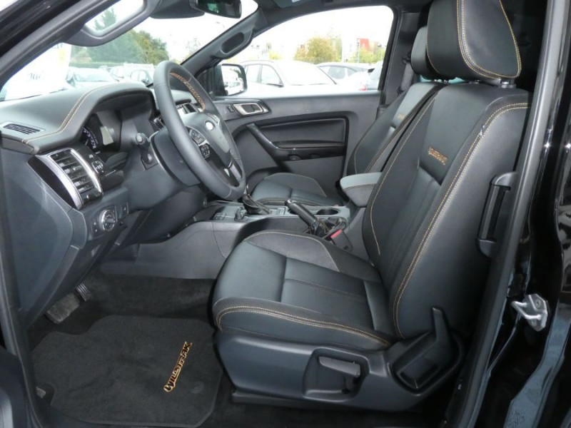 Photo 8 de l'offre de FORD RANGER SUPER CAB 2.0 TDCI 213 BVA10 4WD WILDTRAK Cover Pack Tech. 32900HT à 39450€ chez Mérignac auto