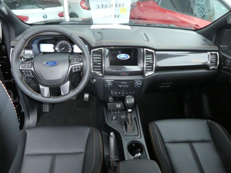 Photo 10 de l'offre de FORD RANGER SUPER CAB 2.0 TDCI 213 BVA10 4WD WILDTRAK Cover Pack Tech. 32900HT à 39450€ chez Mérignac auto