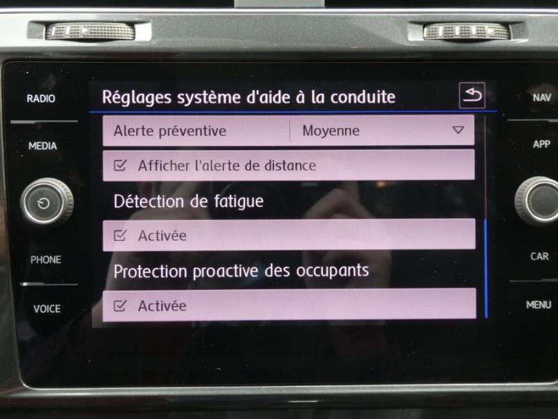 Photo 15 de l'offre de VOLKSWAGEN GOLF SW VII 1.6 TDI 115 DSG7 CONFORTLINE GPS Radars à 17450€ chez Mérignac auto