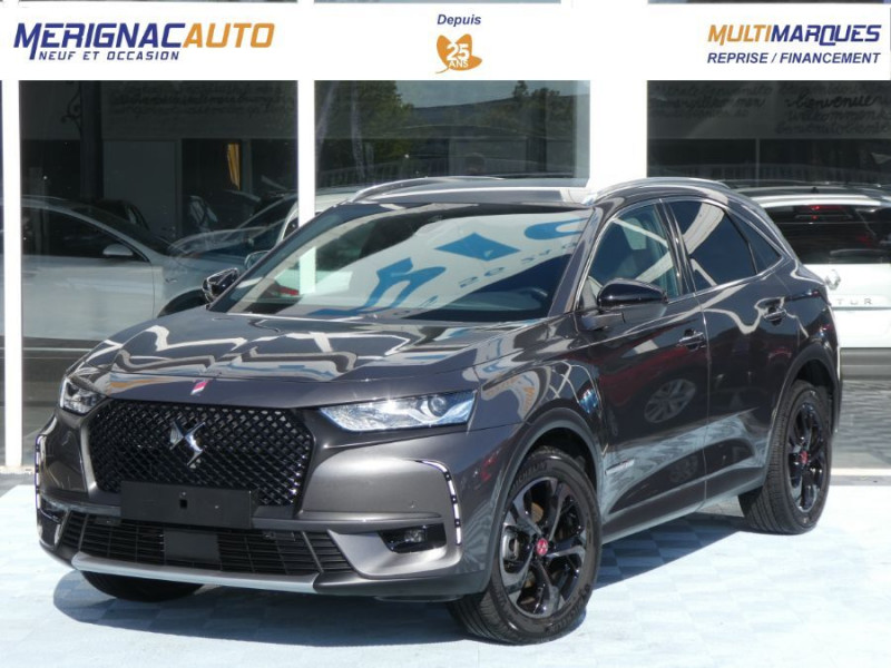 Ds DS7 CROSSBACK BlueHDi 180 EAT8 Pack PERFORMANCE LINE Hayon Easy Camera DIESEL GRIS PLATINIUM Occasion à vendre
