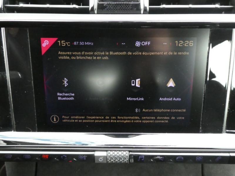 Photo 10 de l'offre de DS DS7 CROSSBACK BlueHDi 180 EAT8 Pack PERFORMANCE LINE Hayon Easy Camera à 33900€ chez Mérignac auto
