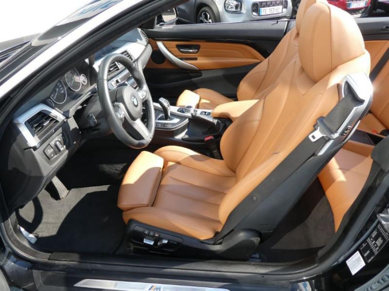 Photo 11 de l'offre de BMW SERIE 4 CABRIOLET (F33) 420i 184 BVA8 M SPORT Gtie 02/23 à 39900€ chez Mérignac auto
