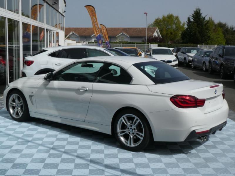 Photo 4 de l'offre de BMW SERIE 4 CABRIOLET (F33) 430i 252 BVA8 M SPORT Gtie 02/23 à 42990€ chez Mérignac auto