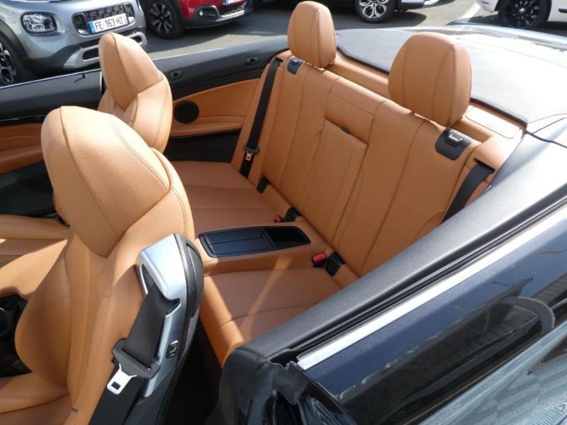Photo 12 de l'offre de BMW SERIE 4 CABRIOLET (F33) 420i 184 BVA8 M SPORT Gtie 02/23 à 39900€ chez Mérignac auto