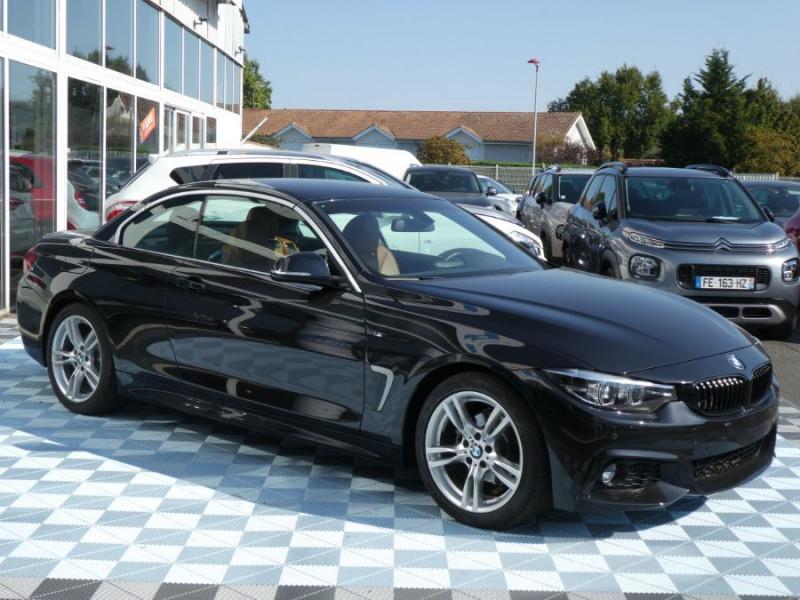 Photo 4 de l'offre de BMW SERIE 4 CABRIOLET (F33) 420i 184 BVA8 M SPORT Gtie 02/23 à 39900€ chez Mérignac auto