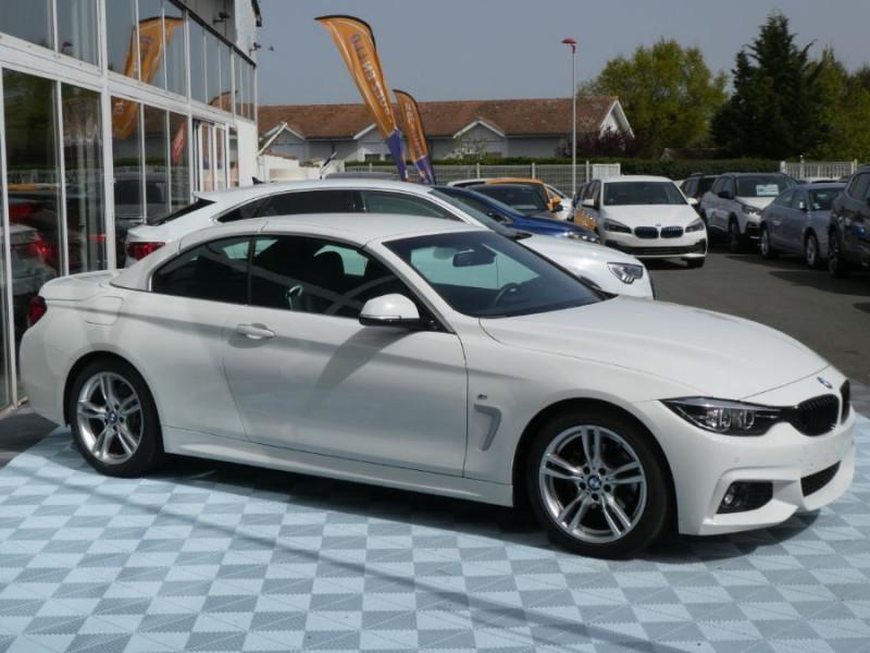 Photo 3 de l'offre de BMW SERIE 4 CABRIOLET (F33) 430i 252 BVA8 M SPORT Gtie 02/23 à 42990€ chez Mérignac auto