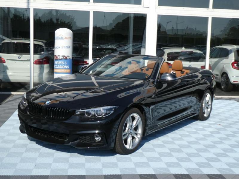 Photo 1 de l'offre de BMW SERIE 4 CABRIOLET (F33) 420i 184 BVA8 M SPORT Gtie 02/23 à 39900€ chez Mérignac auto