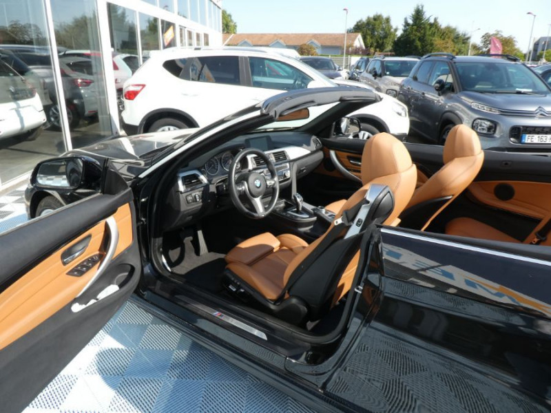 Photo 10 de l'offre de BMW SERIE 4 CABRIOLET (F33) 420i 184 BVA8 M SPORT Gtie 02/23 à 39900€ chez Mérignac auto