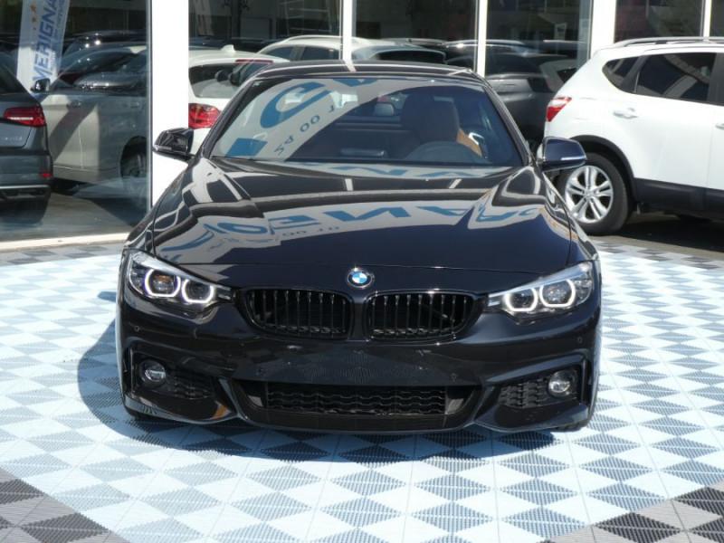 Photo 3 de l'offre de BMW SERIE 4 CABRIOLET (F33) 420i 184 BVA8 M SPORT Gtie 02/23 à 39900€ chez Mérignac auto