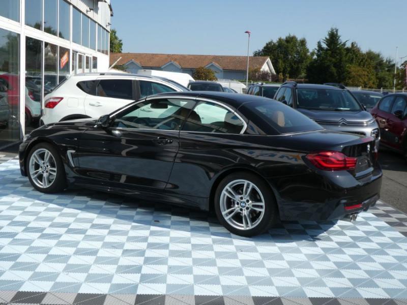 Photo 7 de l'offre de BMW SERIE 4 CABRIOLET (F33) 420i 184 BVA8 M SPORT Gtie 02/23 à 39900€ chez Mérignac auto